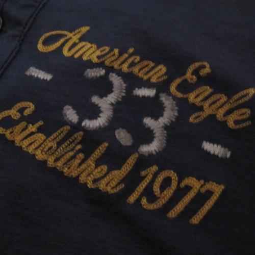 フロント刺繍加工ヘンリーネックロングシャツ - 2