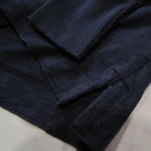 フロント刺繍加工ヘンリーネックロングシャツ - 3