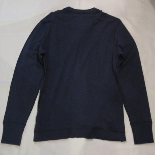 フロント刺繍加工ヘンリーネックロングシャツ - 4