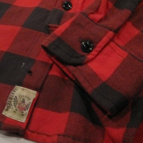 ブロックチェックロングスリーブネルシャツ - 4