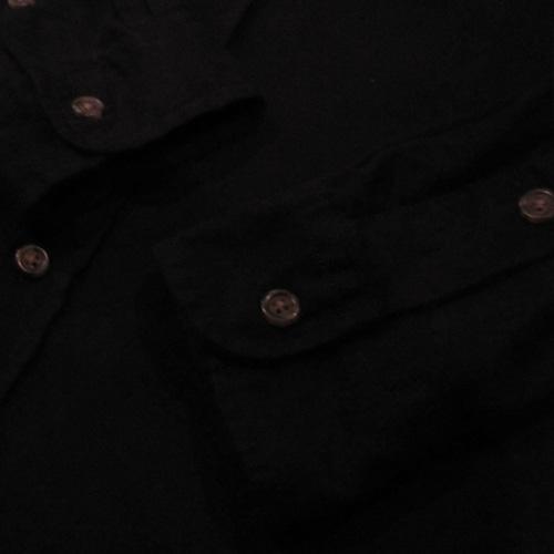 ロングスリーブワークボタンシャツ - 4