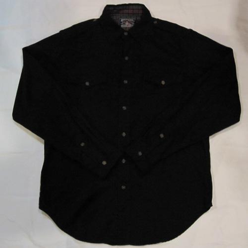 ロングスリーブワークボタンシャツ