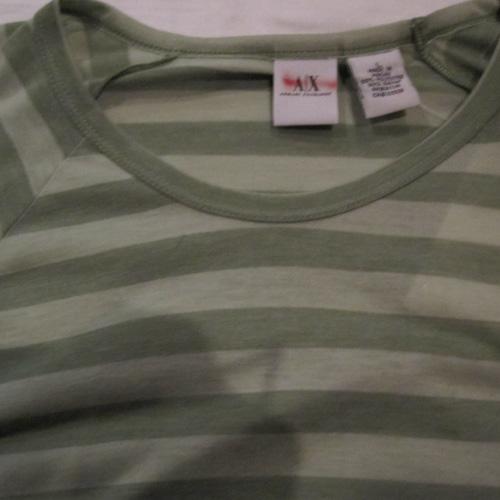 ロングスリーブボーダーTシャツ - 2