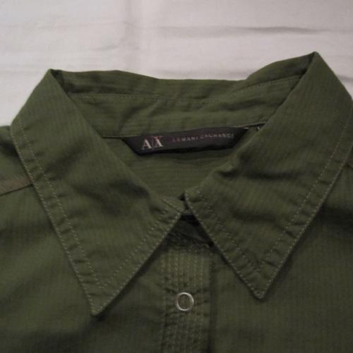 バッチ付きロングスリーブボタンシャツ - 2