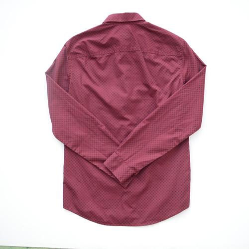 ARMANI EXCHANGE /アルマーニエクスチェンジ ロングスリーブドットボタンシャツ-2