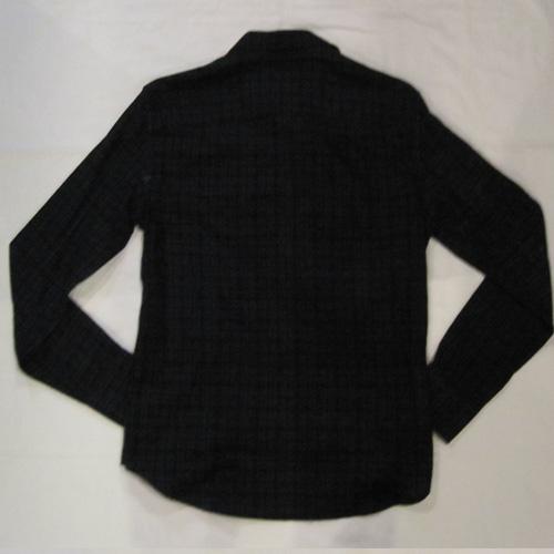 タータンチェックロングスリーブシャツ - 1