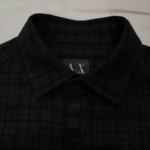 タータンチェックロングスリーブシャツ - 2