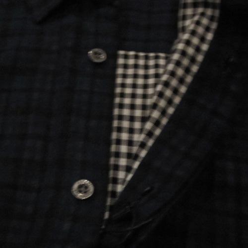 タータンチェックロングスリーブシャツ - 3