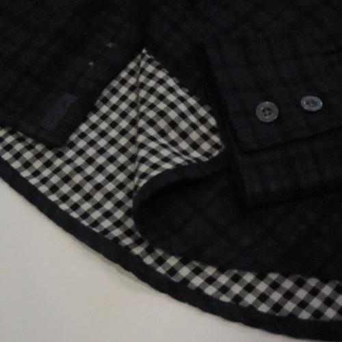 タータンチェックロングスリーブシャツ - 4