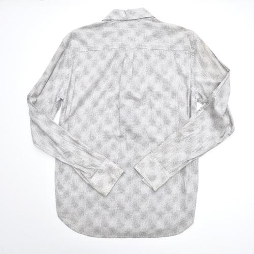 ドット柄フォーマルボタンシャツ - 1