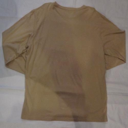 フロントロゴプリントロングスリーブTシャツ - 4
