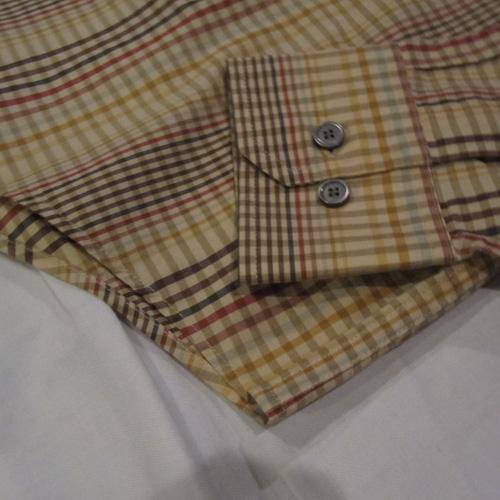 スプリングギンガムチェックボタンシャツ - 4