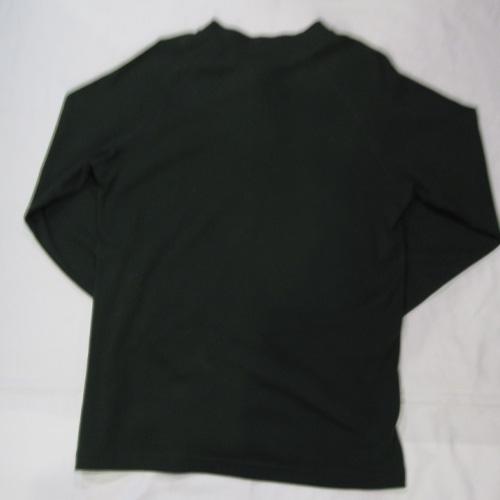 1ポイント刺繍ヘンリーネックロングTシャツ - 1