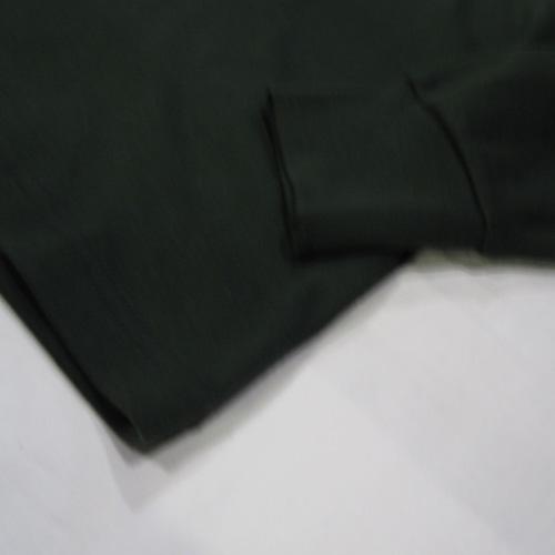1ポイント刺繍ヘンリーネックロングTシャツ - 4