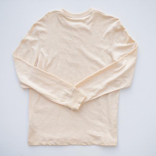 BANANA REPUBLIC/バナナ・リパブリック ビンテージヘンリーネックロングTシャツ - 1