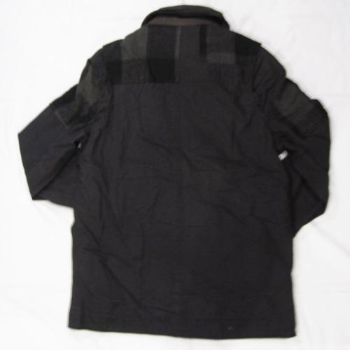 ダブルファスナーミリタリー厚手ジャケット - 1