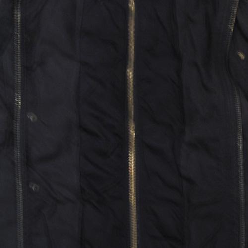 ダブルファスナーミリタリー厚手ジャケット - 3