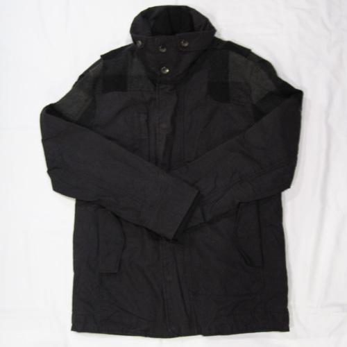 ダブルファスナーミリタリー厚手ジャケット