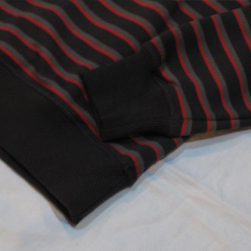 ロングスリーブボーダーTシャツ - 4