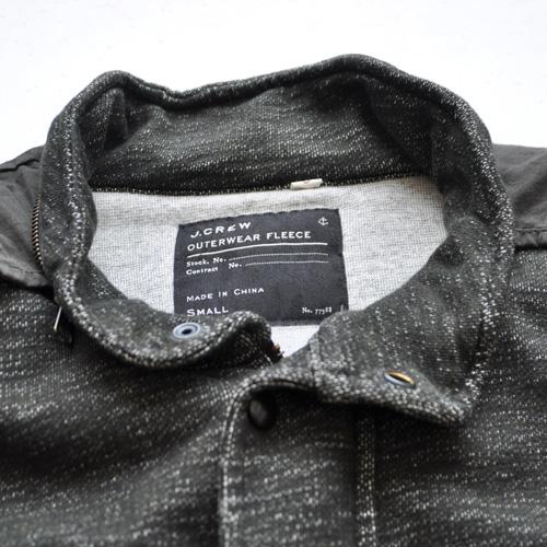 J.CREW/ジェイクルー 襟元フード付きジップアップ厚手ミリタリーパーカ - 2