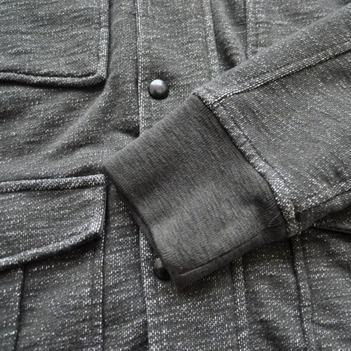 J.CREW/ジェイクルー 襟元フード付きジップアップ厚手ミリタリーパーカ - 5