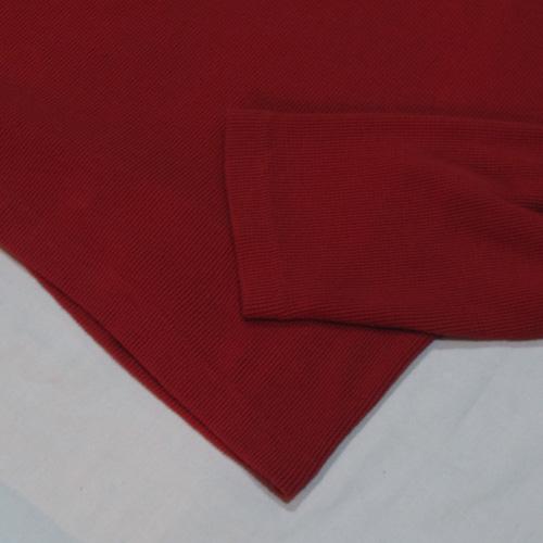サーマル地フロントプリントロングTシャツ - 3