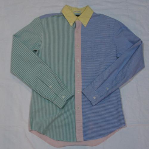 クレイジーロングスリーブボタンシャツ