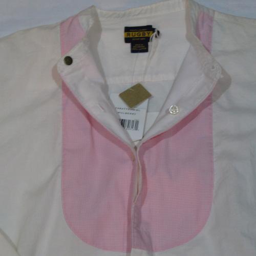 丸首グランパロングスリーブシャツ - 1