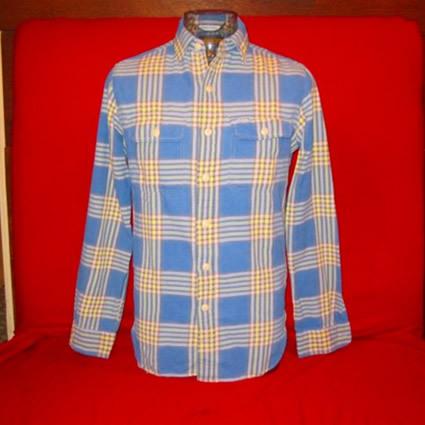 ビンテージロングスリーブネルシャツ
