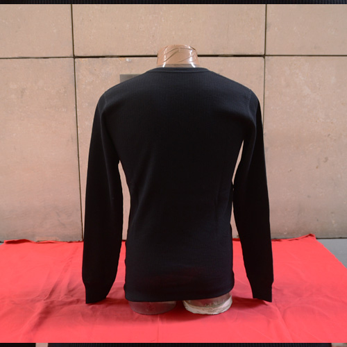 ASHANTie /アシャンティ オリジナルサーマルロングTシャツ ブラック-2