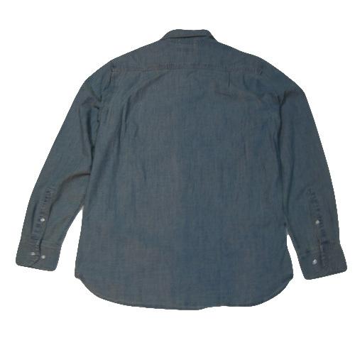 ロングスリーブシャンブレーシャツ - 1