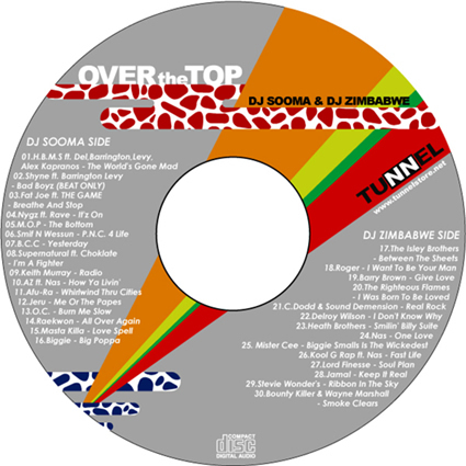 TUNNEL ORIGINAL MIX CD / OVER THE TOP-3