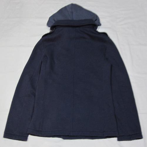 フード付きPコートジャケット - 1