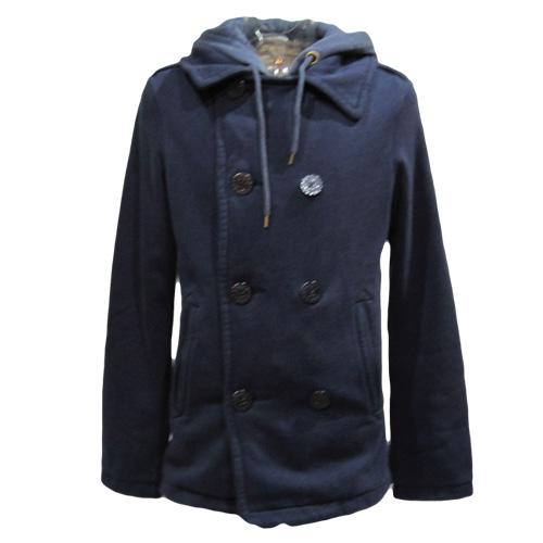フード付きPコートジャケット - 2