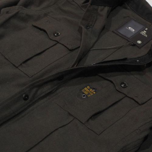 ミリタリーワークジャケット - 3