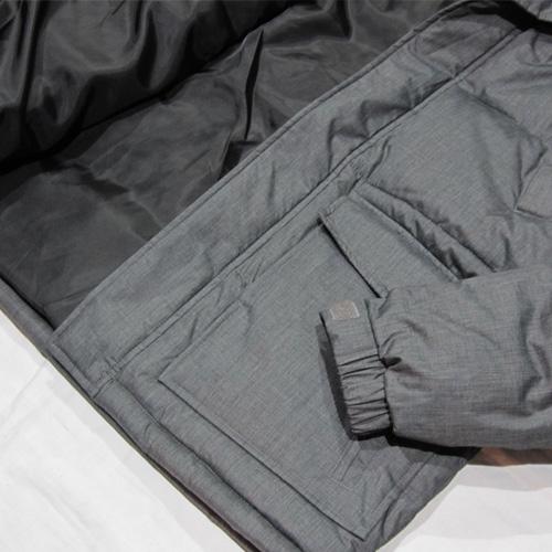 ジップアップファー付き中綿ジャケット - 4