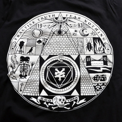 ZOO YORK / ズーヨーク イルミナティ NYC Tシャツ #2 - 2