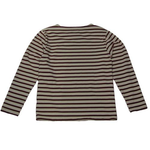 ロングスリーブボーダーTシャツ - 1