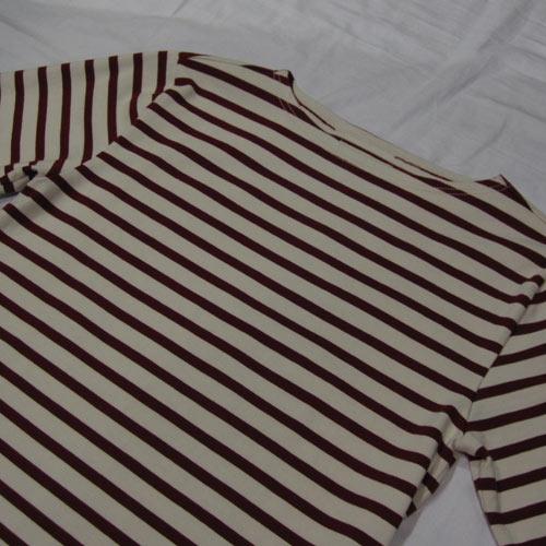 ロングスリーブボーダーTシャツ - 3