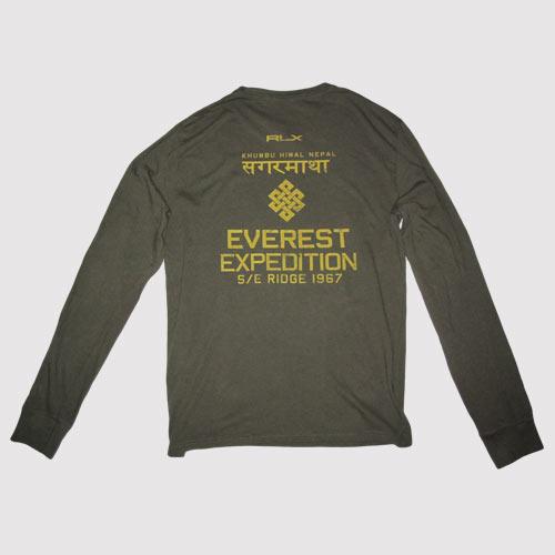両面プリントロングスリーブTシャツ - 1
