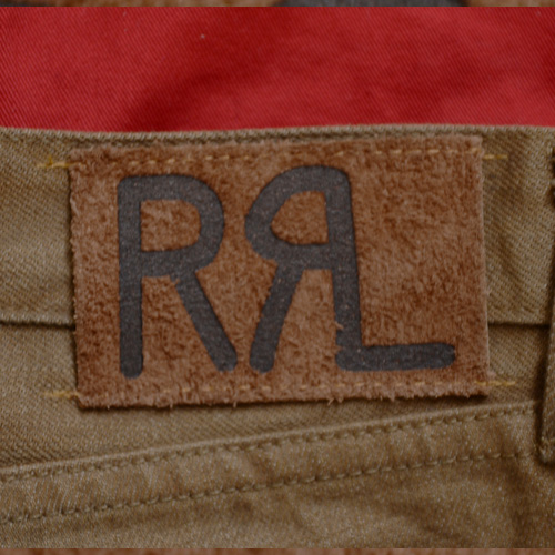 RRL (ダブルアールエル) SLIM BOOOTCUT BROWN DENIM - 2