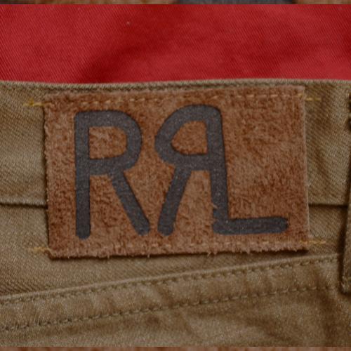 RRL (ダブルアールエル) SLIM BOOOTCUT BROWN DENIM - 2