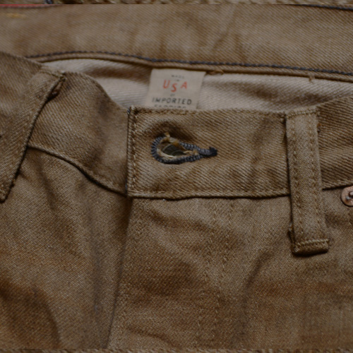 RRL (ダブルアールエル) SLIM BOOOTCUT BROWN DENIM - 5