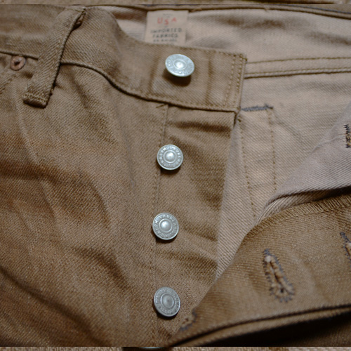 RRL (ダブルアールエル) SLIM BOOOTCUT BROWN DENIM - 6