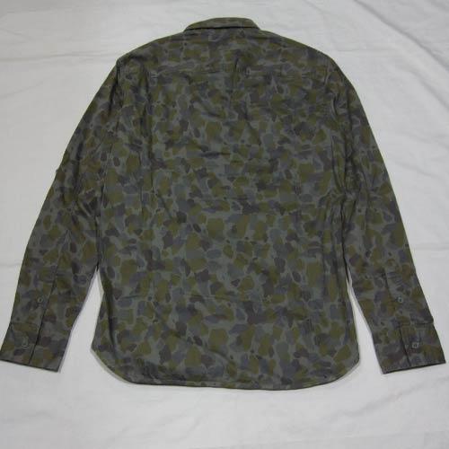 カモフラ柄ロングスリーブシャツ-2