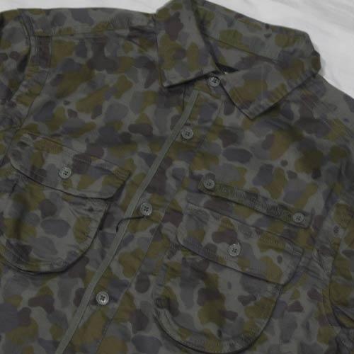 カモフラ柄ロングスリーブシャツ-4
