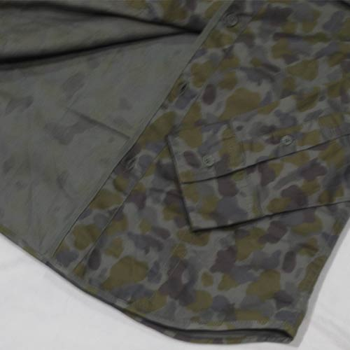 カモフラ柄ロングスリーブシャツ-5
