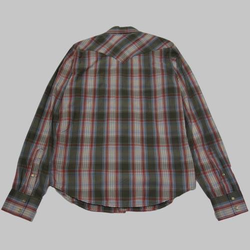 ウエスタンロングスリーブシャツ - 1