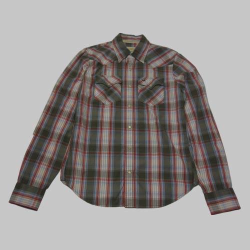 ウエスタンロングスリーブシャツ