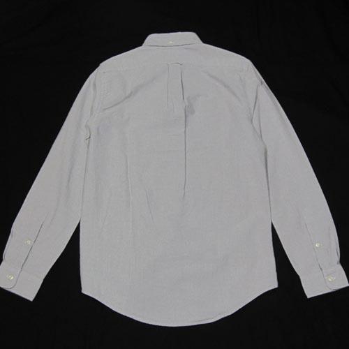 オックスフォードシャンブレーロングスリーブシャツ - 1